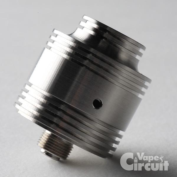 【アトマイザー RDA】Nectar Micro-Steel 「ネクター・マイクロ・スティール」(AmerPoint)レビュー