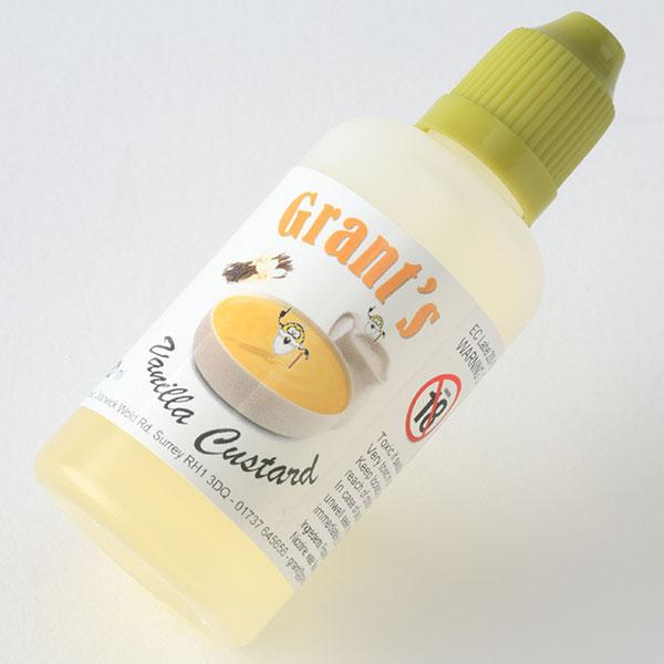 【リキッド】Grant's Vanilla Custard(GVC)レビュー