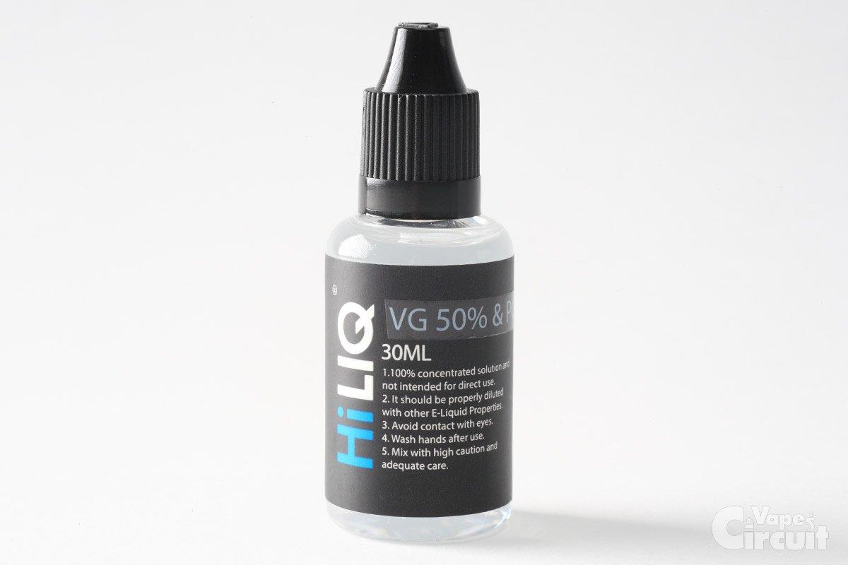 【リキッド】HiLIQの自作リキッド ベース液、香料原液を使ってみました。