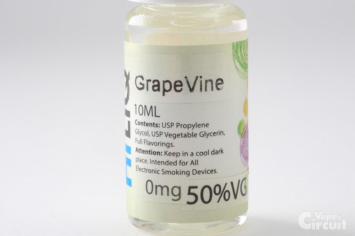 【リキッド】Grape Vine (HiLIQ) レビュー