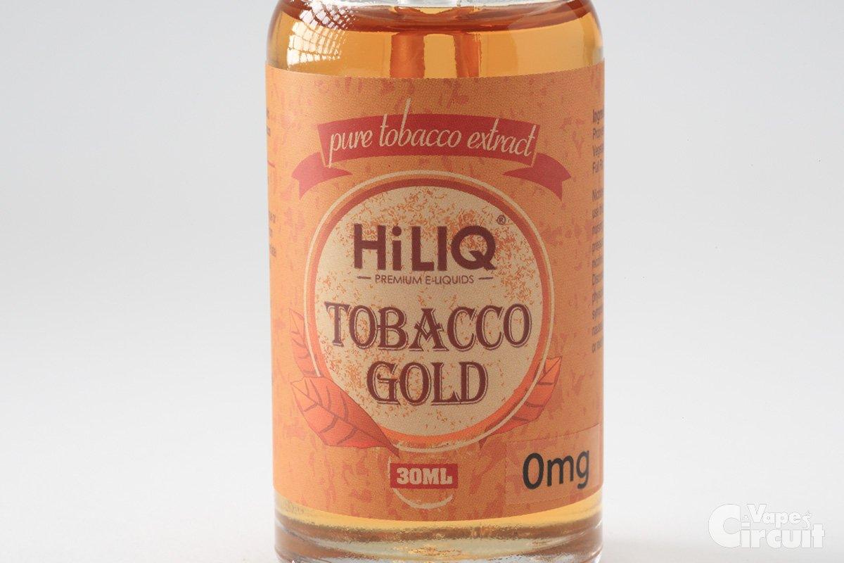 【リキッド】TABACCO GOLD タバコゴールド (HiLIQ Premium ショップ限定) レビュー