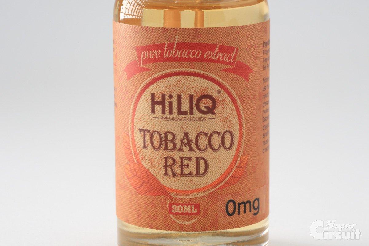 【リキッド】TABACCO RED タバコレッド (HiLIQ Premium ショップ限定) レビュー