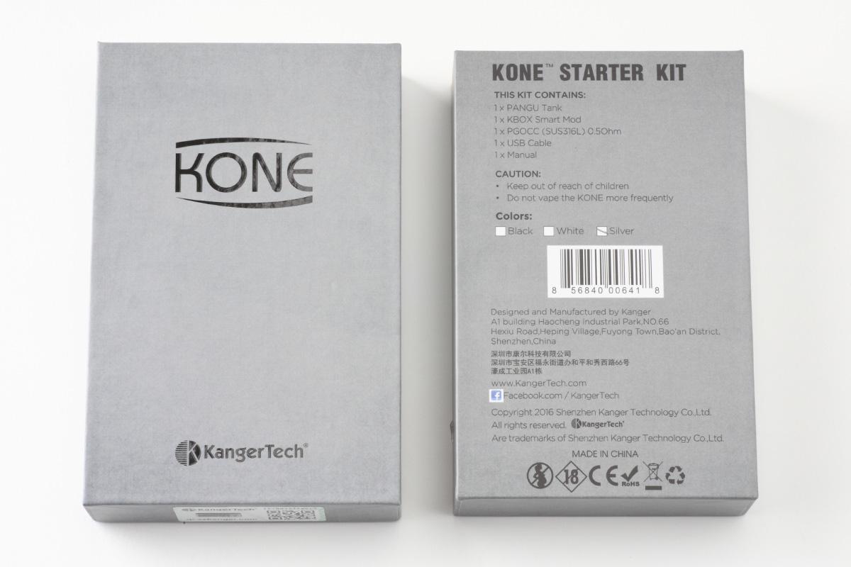 【スターターキッド】KONE 60W (KangerTech カンガーテック) レビュー
