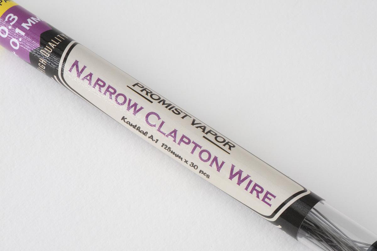 【ワイヤー】NARRPW CLAPTON WIRE ナロークラプトンワイヤー (PROMIST VAPER) レビュー
