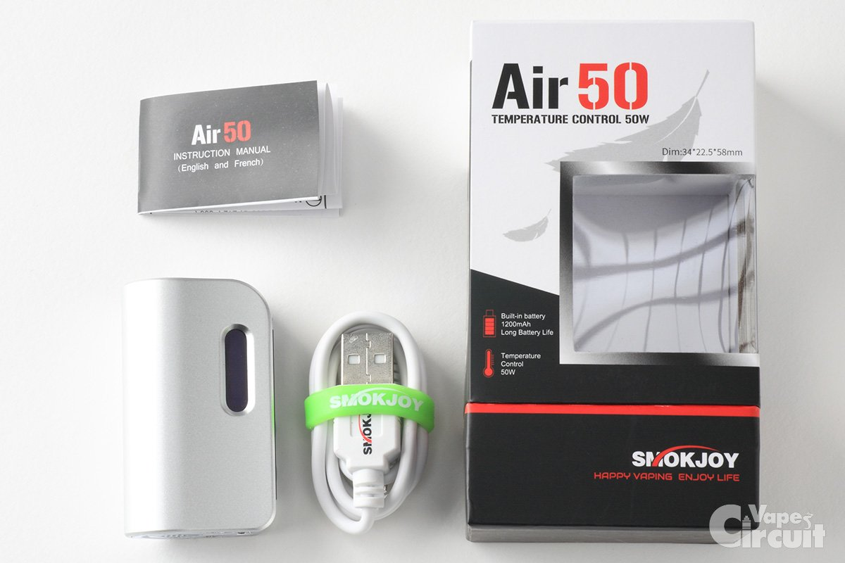 【テクニカルMOD】Air50 (SMOKJOY)レビュー