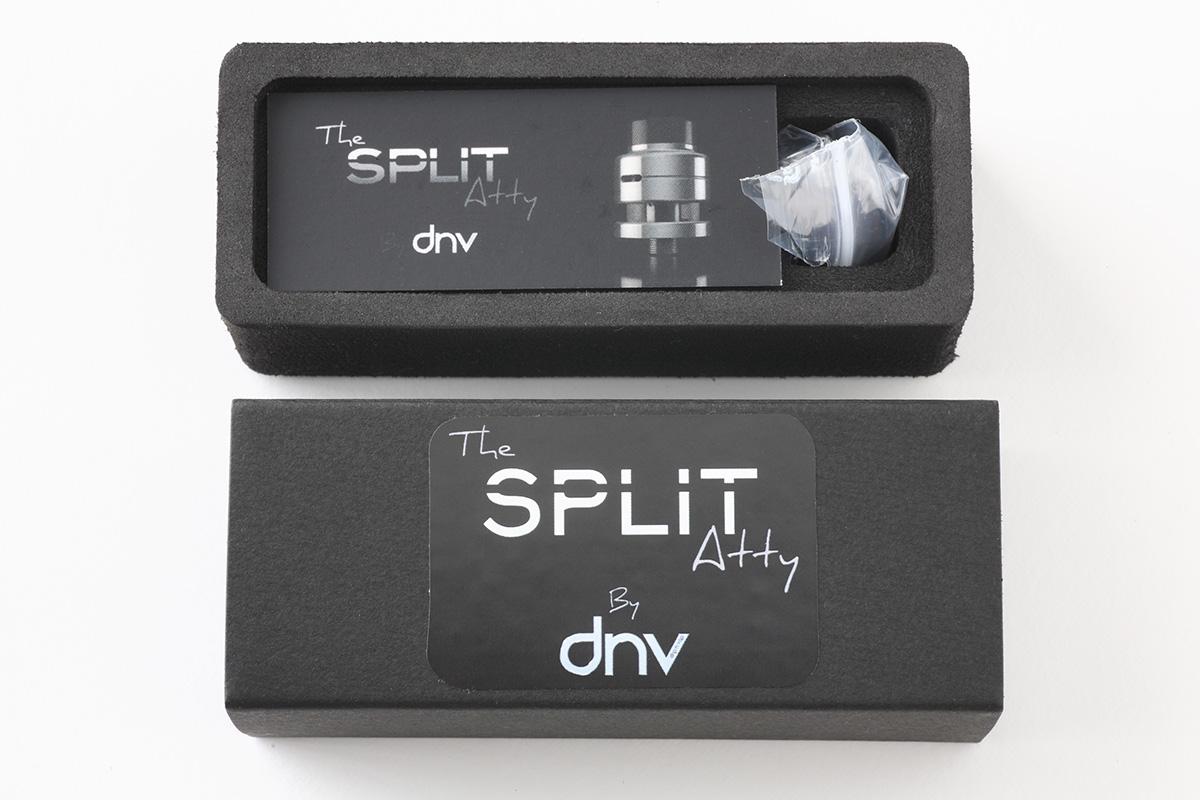 【アトマイザー】The SPLIT Atty (Batch-C) RDTA (Drip'n Vap)スプリット レビュー