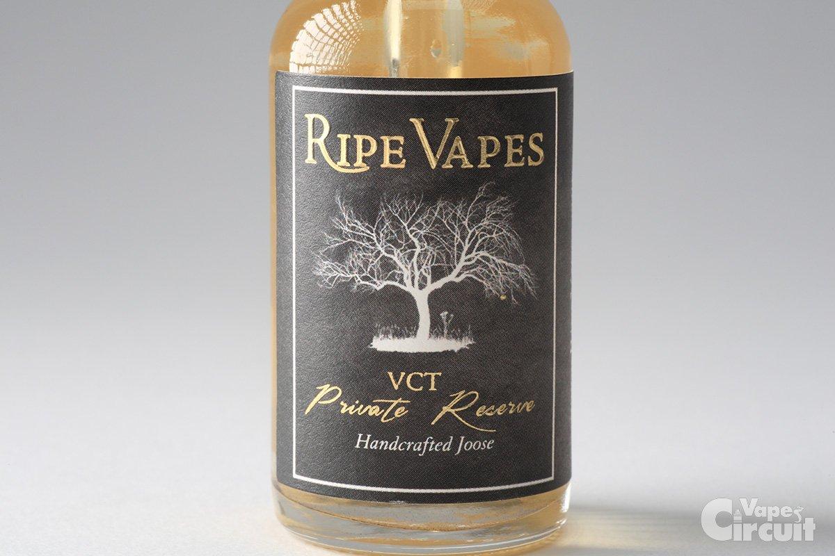 【リキッド】VCT Private Reserve (RIPE VAPES)レビュー