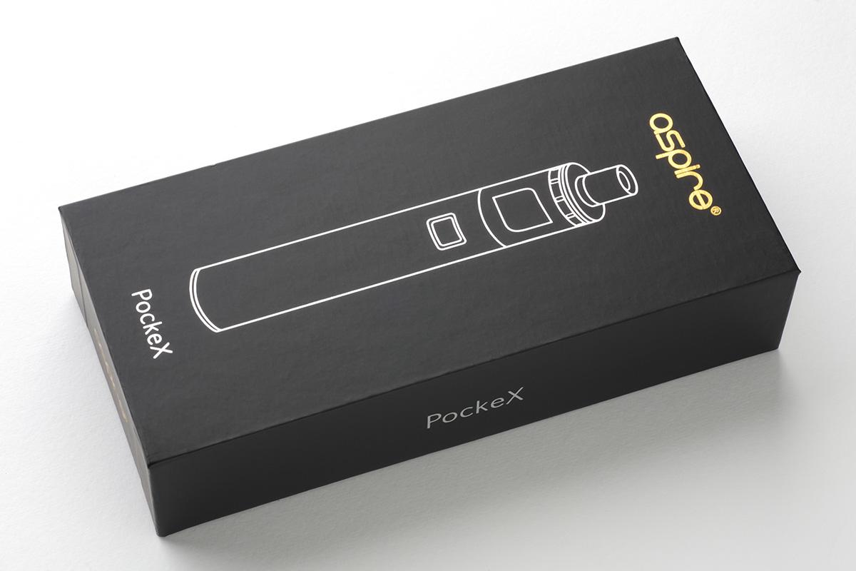 【スターターキット】Pocket X「ポケット・エックス」(aspire アスファイア)レビュー