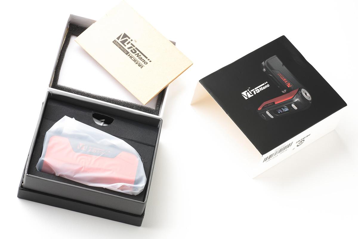 【テクニカルMOD】VT75 NANO Box Mod(Hcigar)レビュー