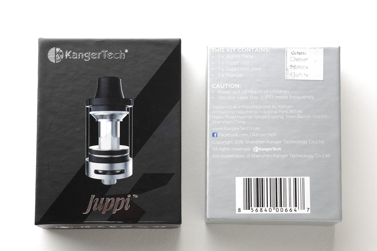 【アトマイザー】Juppi Tank (Kangertech カンガーテック) レビュー