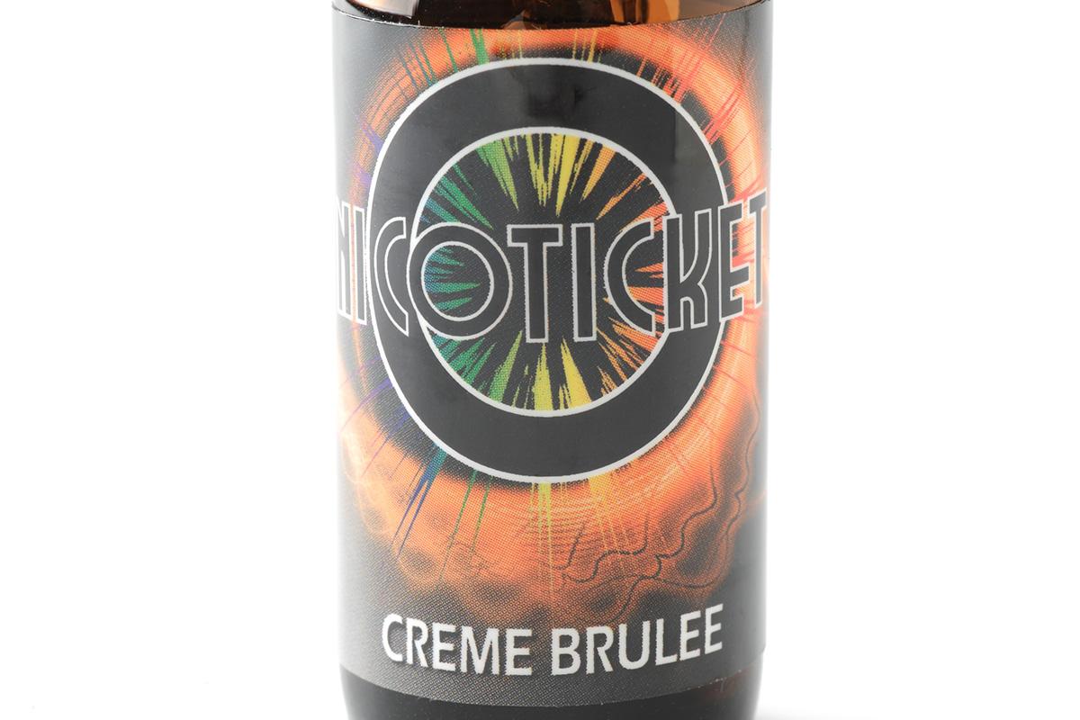 【リキッド】Creme Brulee 「クレームブリュレ」 (NICOTICKET ニコチケット) レビュー