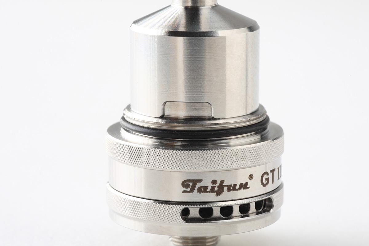 【アトマイザー】Taifun GT3 (SmokerStore)タイフン レビュー