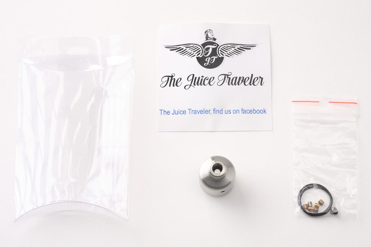 【アトマイザー】The Nipple RDA「ザ・ニップルRDA」 (TjT Exclusive Creations) レビュー