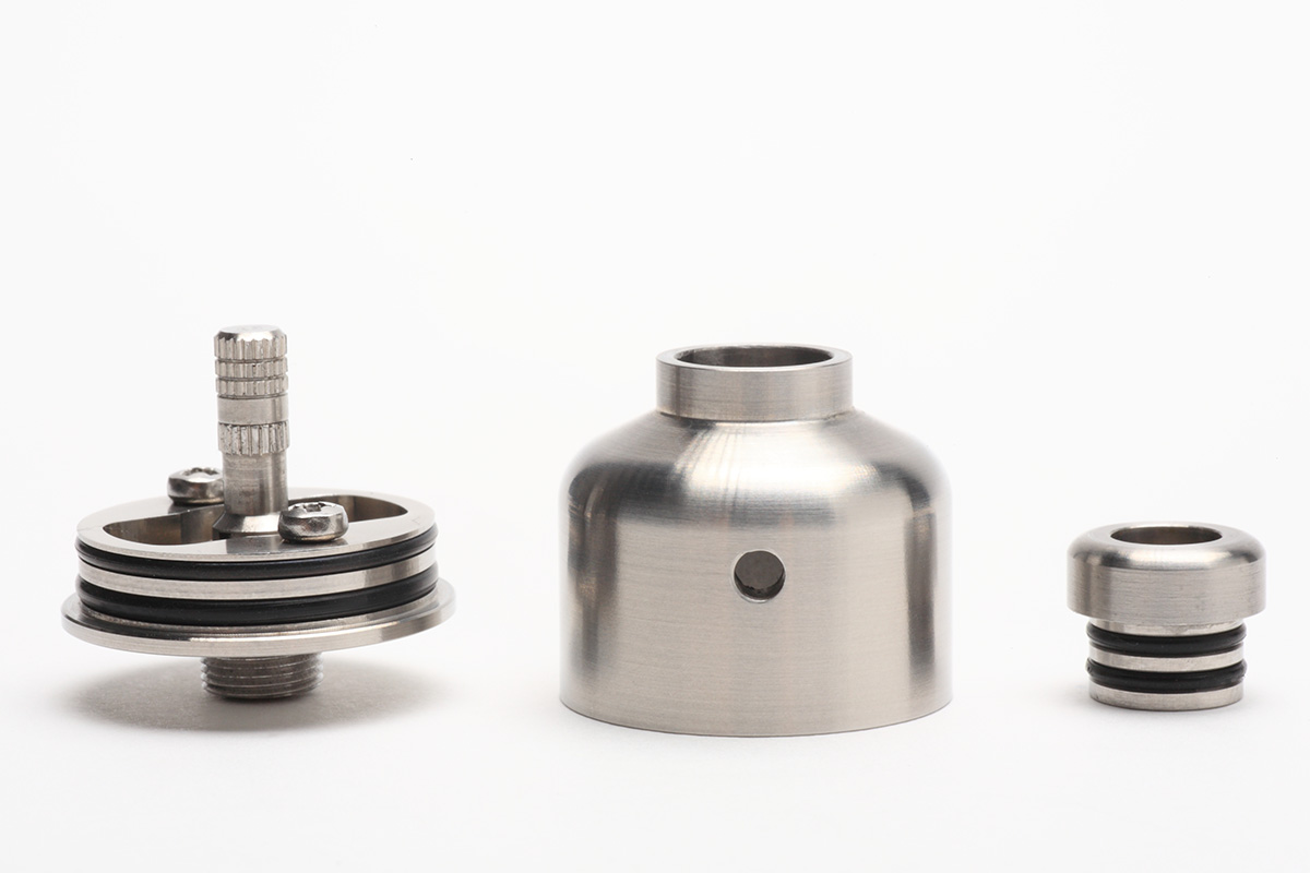 【アトマイザー】The Nipple RDA「ザ・ニップルRDA」 (TjT Exclusive Creations) レビュー