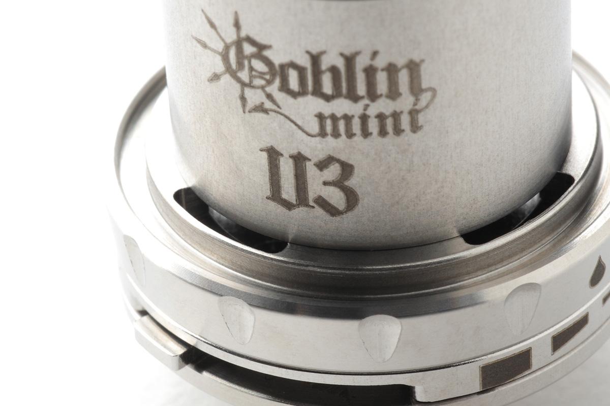 【アトマイザー】Goblin Mini V3 RTA「ゴブリンミニ」 (UD) レビュー