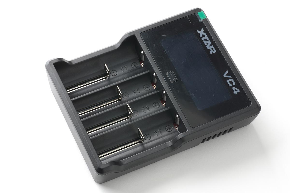 【バッテリーチャージャー】VC4(XTAR エクスター)レビュー