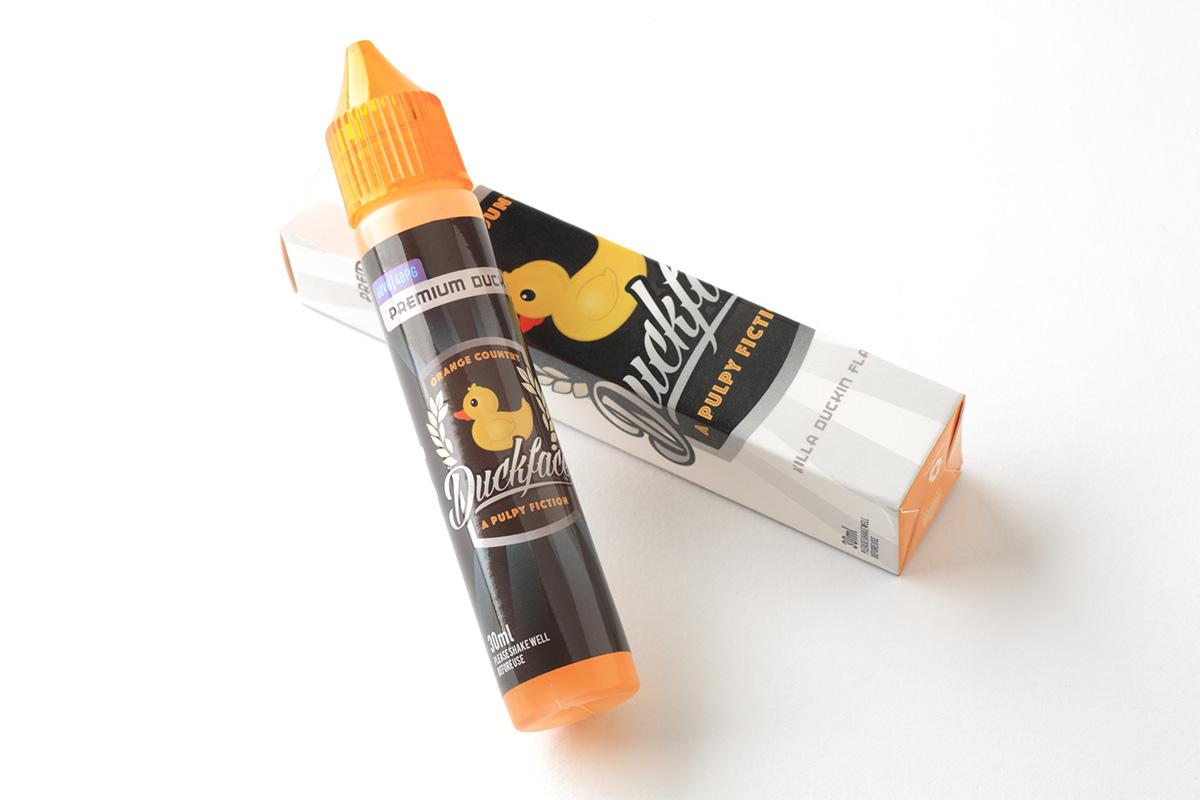 【リキッド】Duckface Orange Country「ダックフェイス・オレンジ_カントリー」 (Forbidden Juice) レビュー