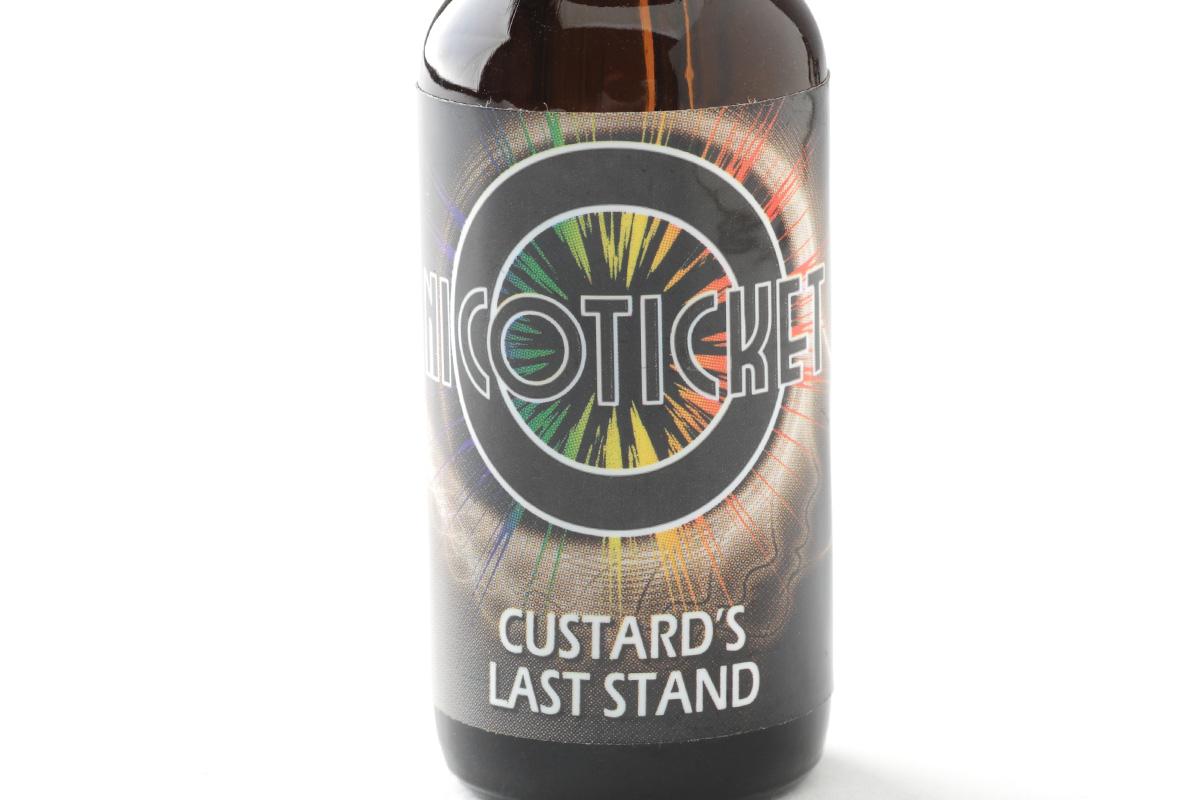 【リキッド】Custard's Last Stand「カスタード ラスト スタンド」 (NICOTICKET ニコチケット) レビュー