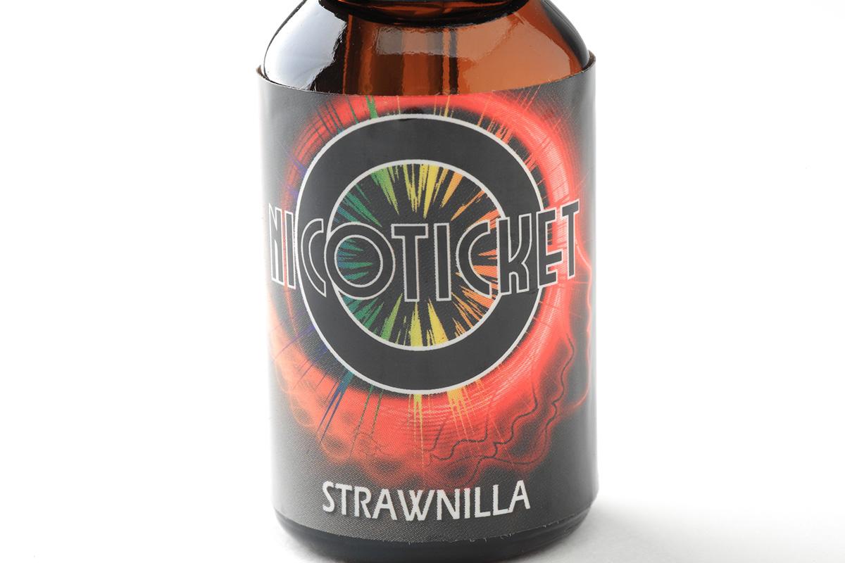【リキッド】Strawnilla「ストロニラ」 (NICOTICKET ニコチケット) レビュー