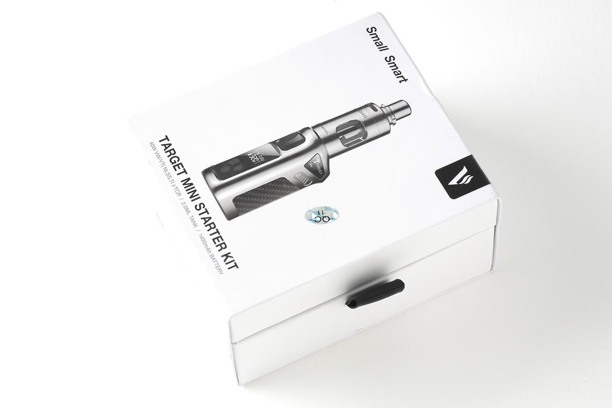 【スターターキット】Targen Mini Kit「ターゲットミニ」 (Vaporesso) レビュー