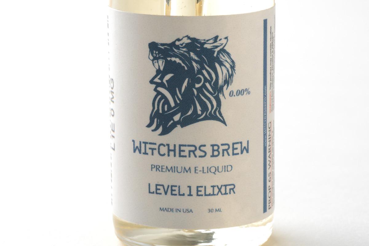 【リキッド】Level 1 Elixir「レベル・ワン・エリクサー」 (Witchers Brew ウィッチャーズブリュー) レビュー