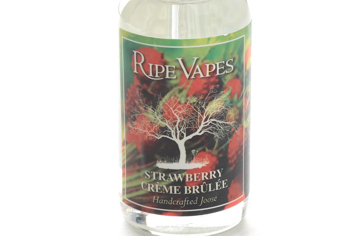 【リキッド】Strawberry Creme Brulee「ストロベリー・クレーム・ブリュレ」 (RIPE VAPEライプ ベイプス) レビュー