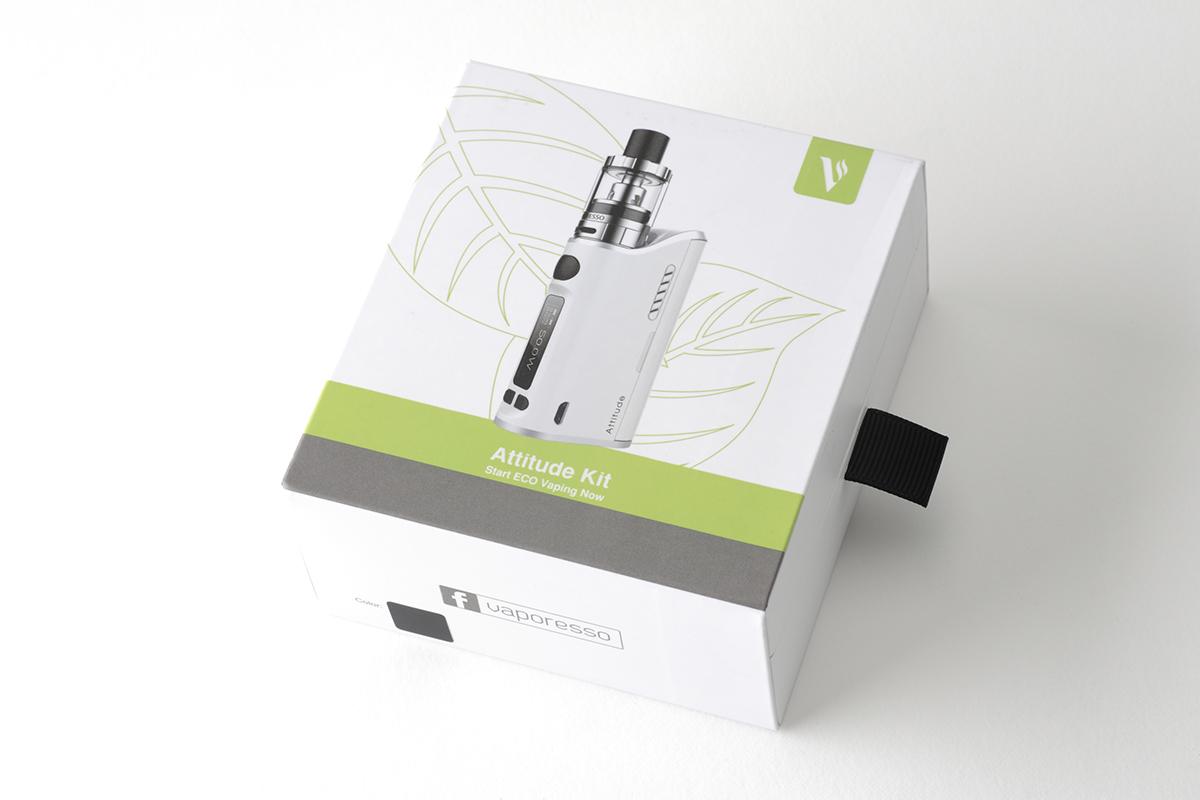 【スターターキット】Attitude 80W TC VW MOD Kit (Vaporesso ) レビュー