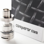 【アトマイザー】Conqueror Mini RTA「コンカラー ミニ RTA」(Wotofo ウォトフォ)レビュー