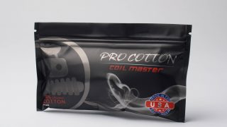 【コットン】Pro Cotton「プロコットン」 (COIL MASTER コイルマスター) レビュー