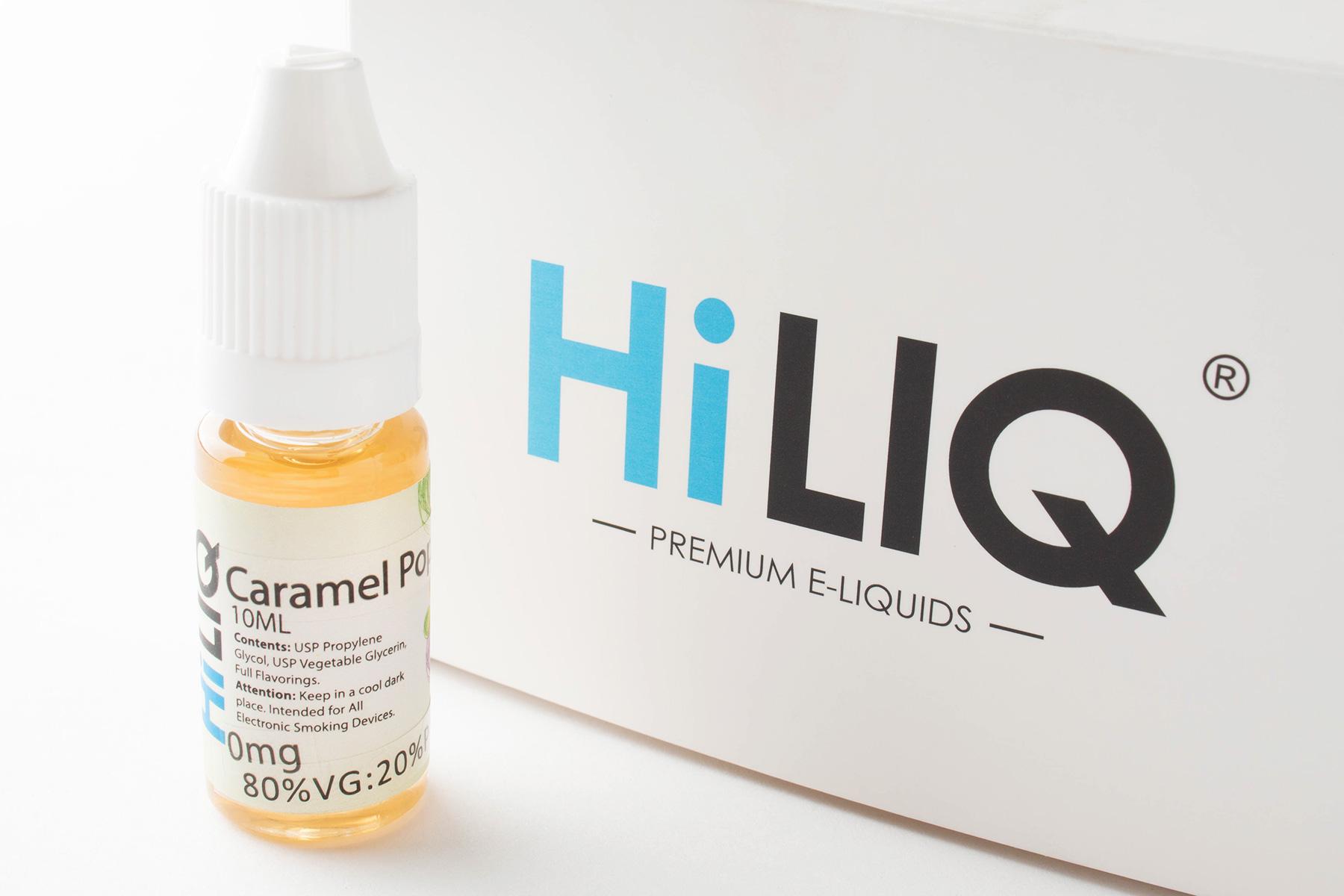 【リキッド】 Caramel Popcorn「キャラメルポップコーン」 (HiLIQ ハイリク) レビュー