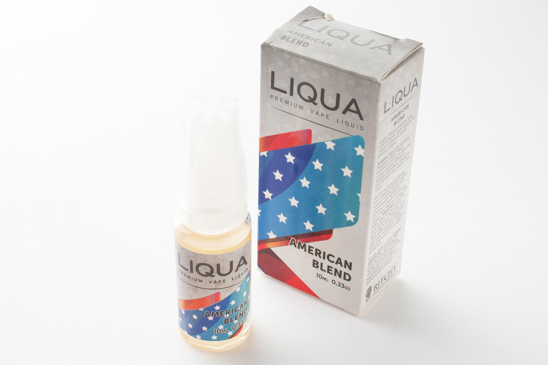【リキッド】American Blend「アメリカンブレンド」 (LIQUA リクア) レビュー