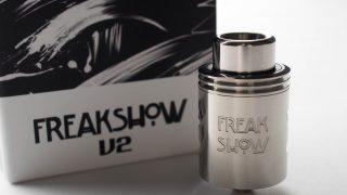 【アトマイザー】Freakshow V2 RDA「フリークショウ バージョン2」 (Wotofo ワトフォ) レビュー