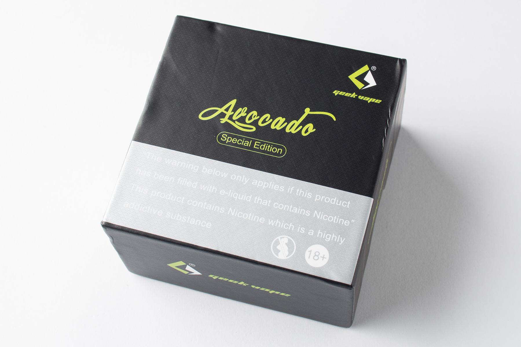 【アトマイザー】Avocado 22 Special Edition「アボカド22スペシャルエディション」 (GeekVape ギークベイプ) レビュー