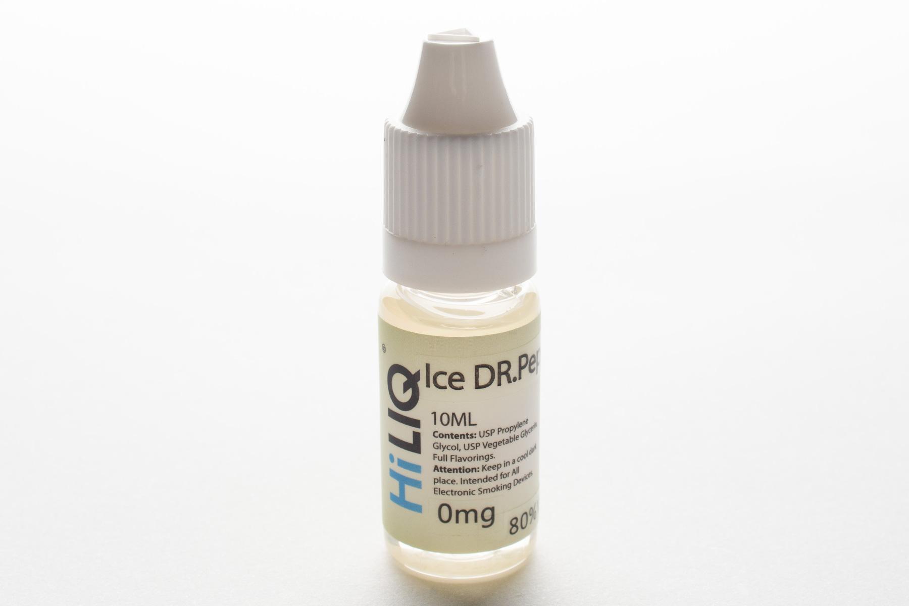 【リキッド】Ice Dr.Pepper「アイスドクターペッパー」 (HiLIQ ハイリク) レビュー