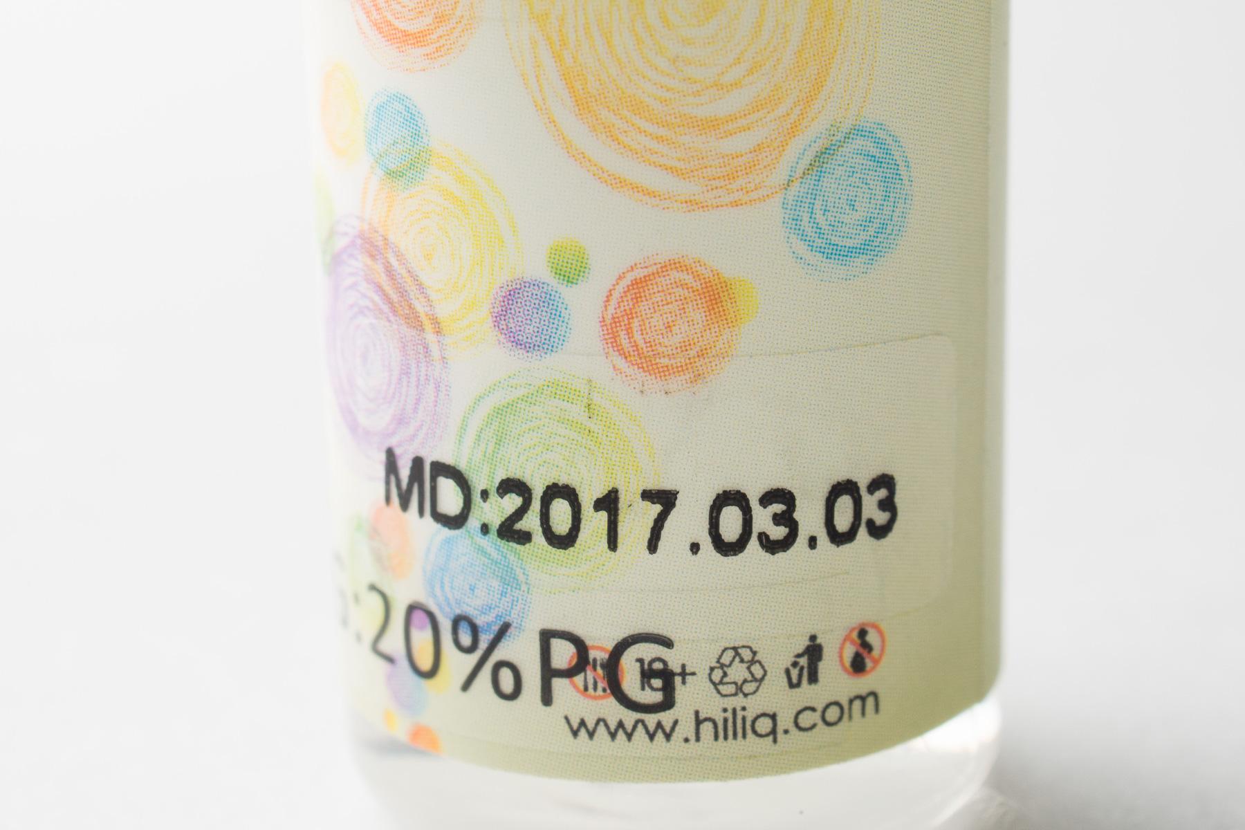 【リキッド】Mango Sorbet「マンゴーシャーベット」 (HiLIQ ハイリク) レビュー