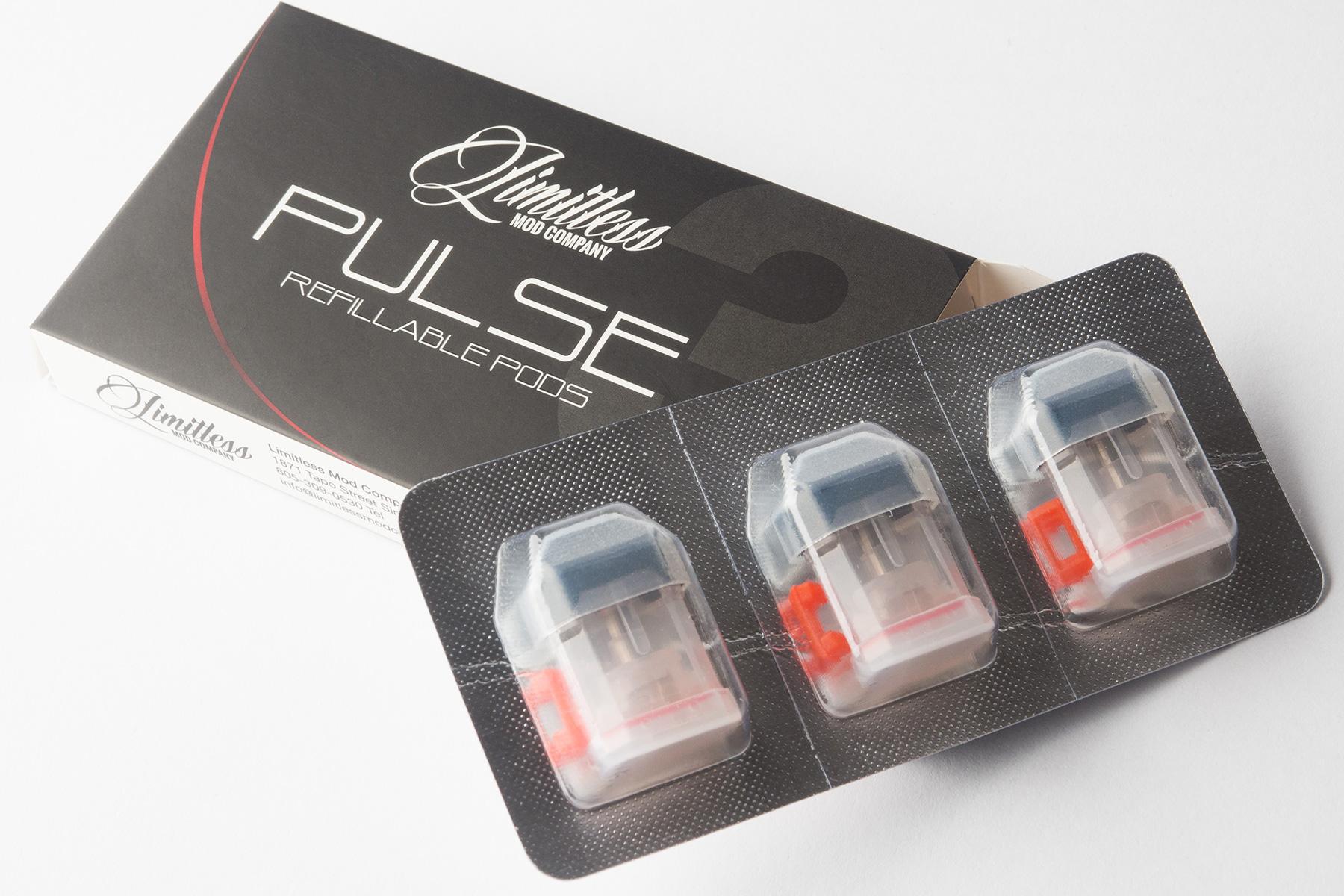 【アスターターキット】Pulse Innovative Pod System 「パルス」 (Limitless/リミットレス) レビュー