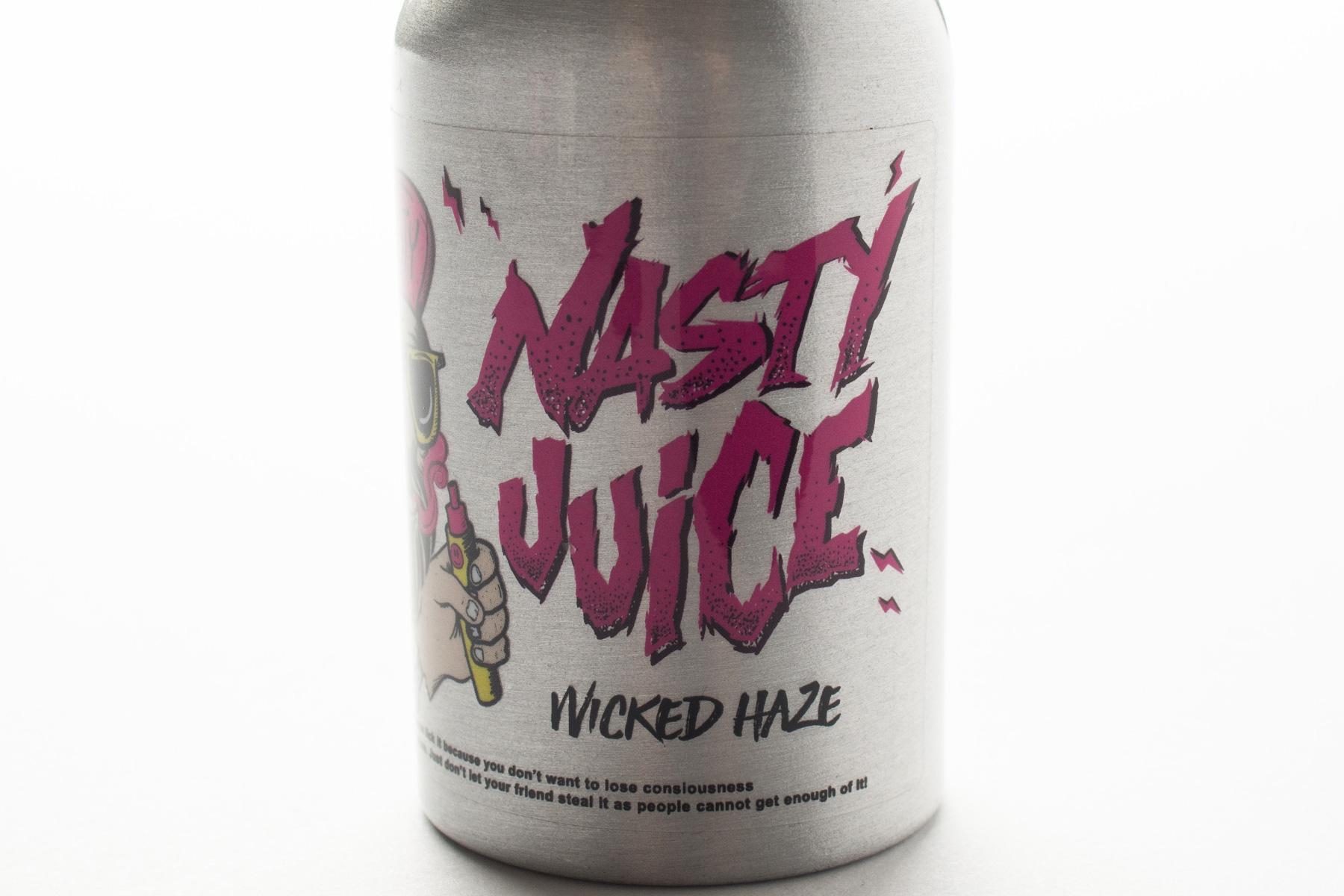 【リキッド】WICKED HAZE「ウィキッド・ヘイズ」 (NASTY JUICE/ナスティ・ジュース) レビュー