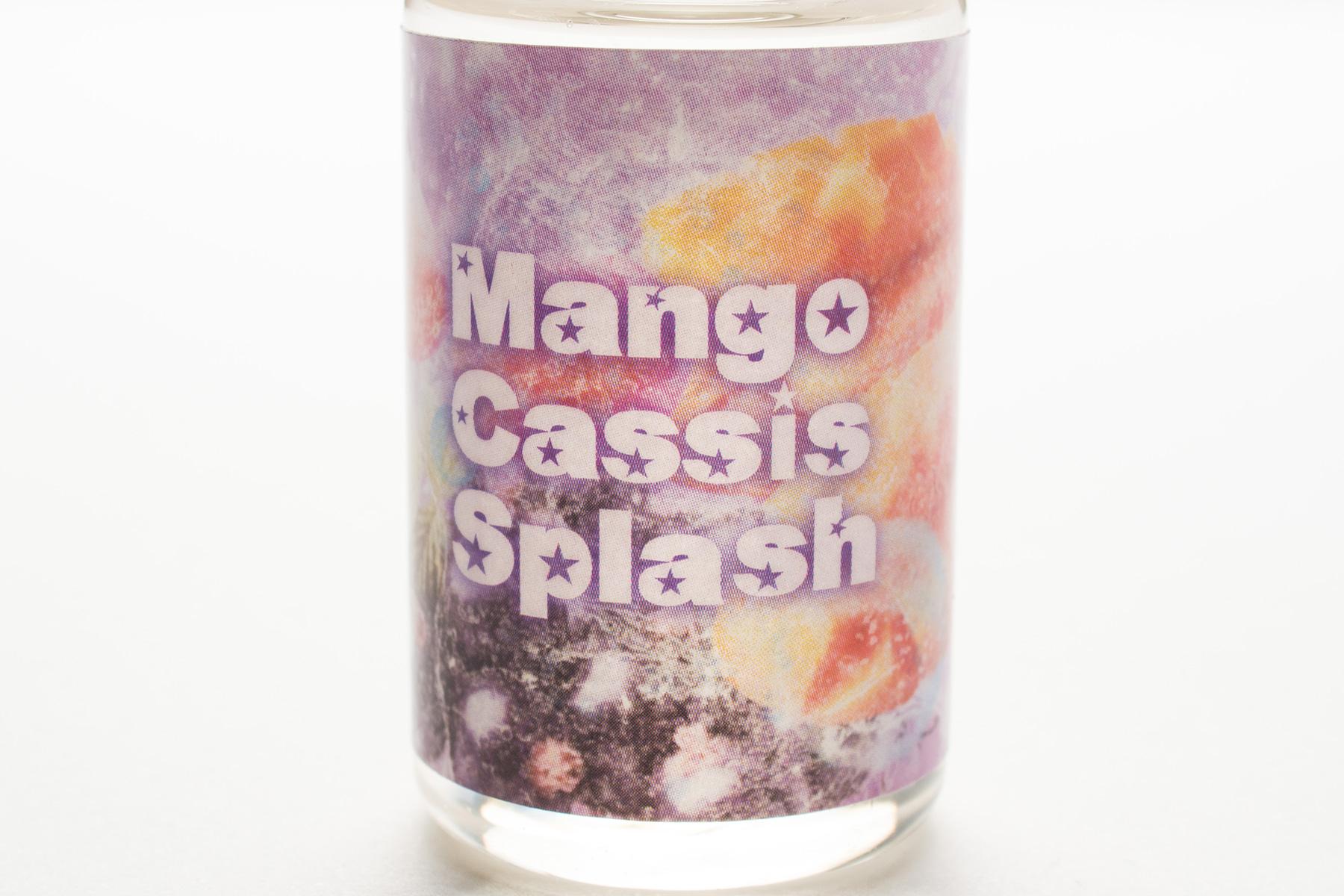 【リキッド】MANGO CASSIS「マンゴーカシス」 (SPLASH E-LIQUID/スプラッシュ・イーリキッド) レビュー
