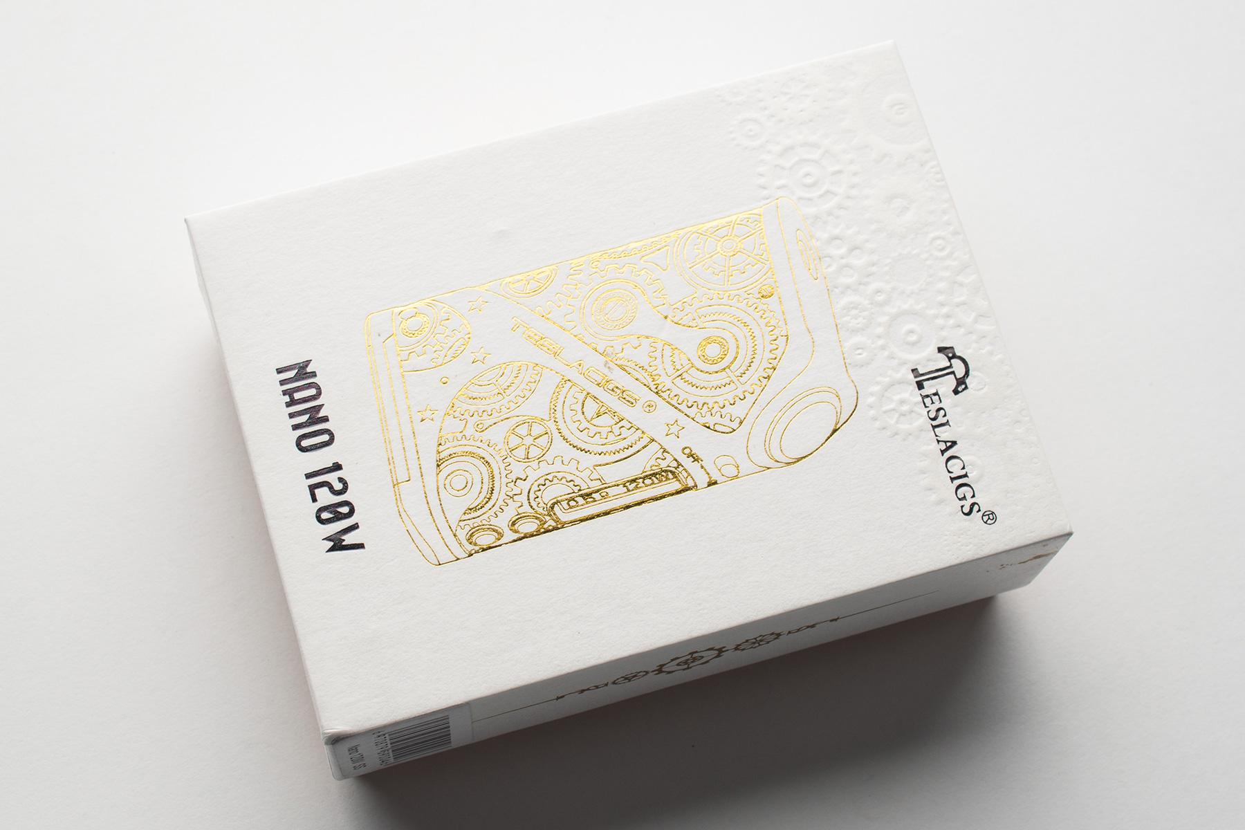 【テクニカルMOD】NANO 120W「ナノ120W」 (TeslaCigs テスラシグズ) レビュー