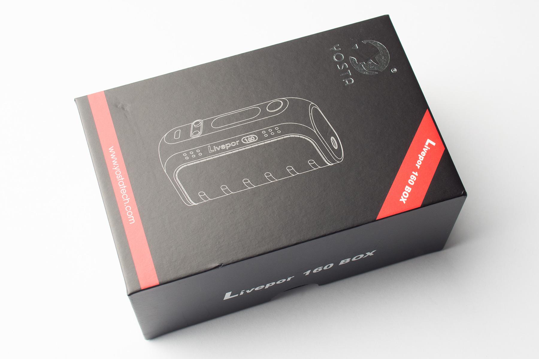 【テクニカルMOD】Livepor 160W Box Mod (Yosta/ヨースタ)レビュー