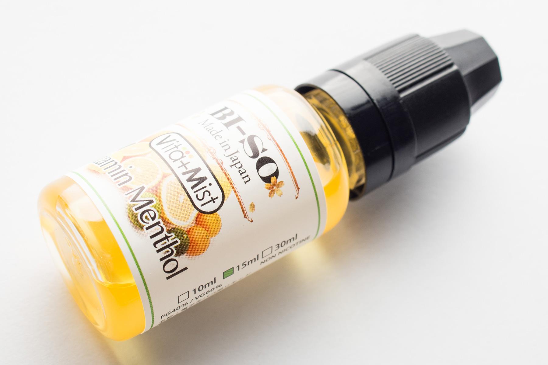 【リキッド】Vitamin Menthol Vita+Mist「ビタミンメンソール ビタミスト」 (BI-SO/ビソ) レビュー