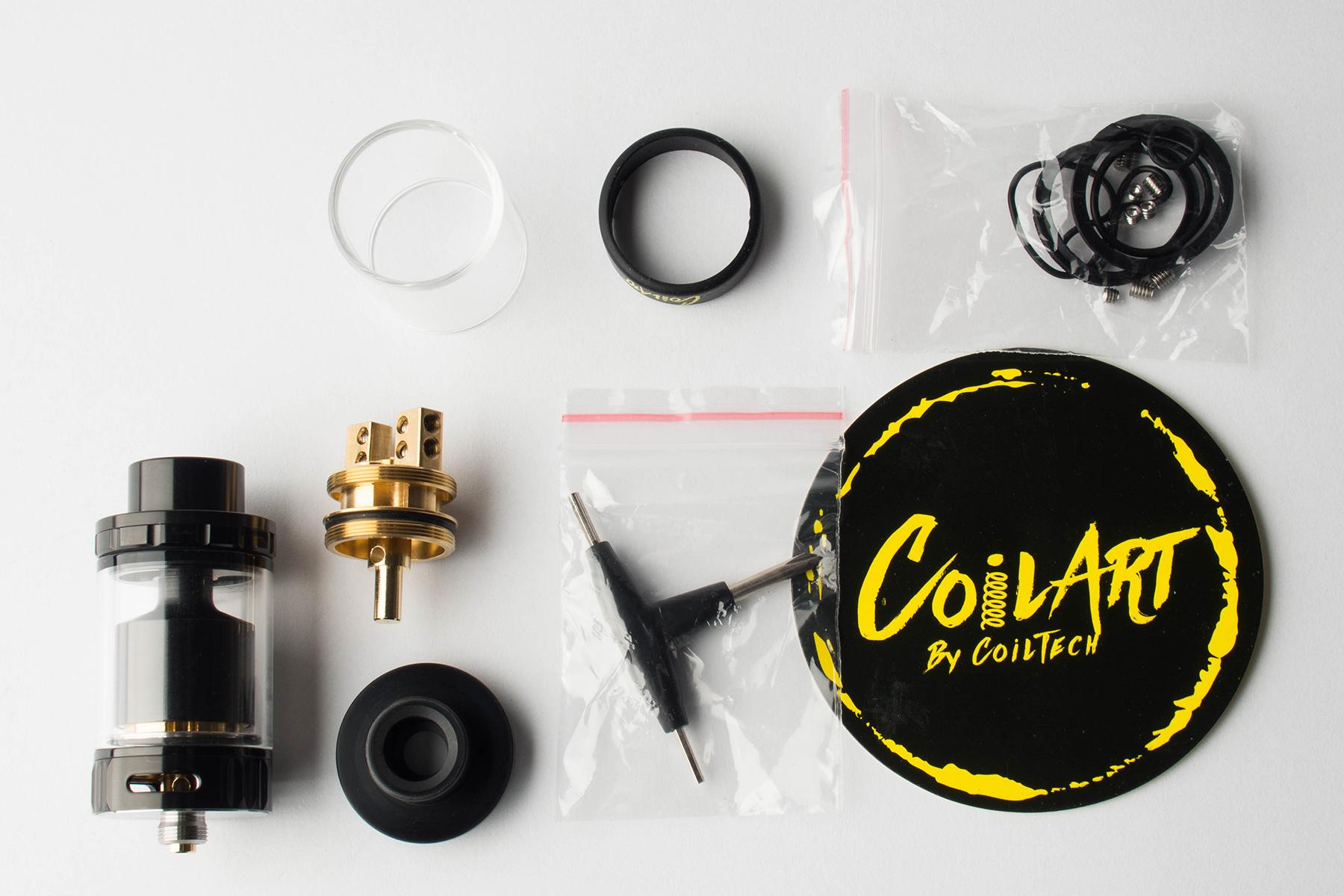 【アトマイザー】AZEROTH RTA (CoilART/コイルアート) レビュー