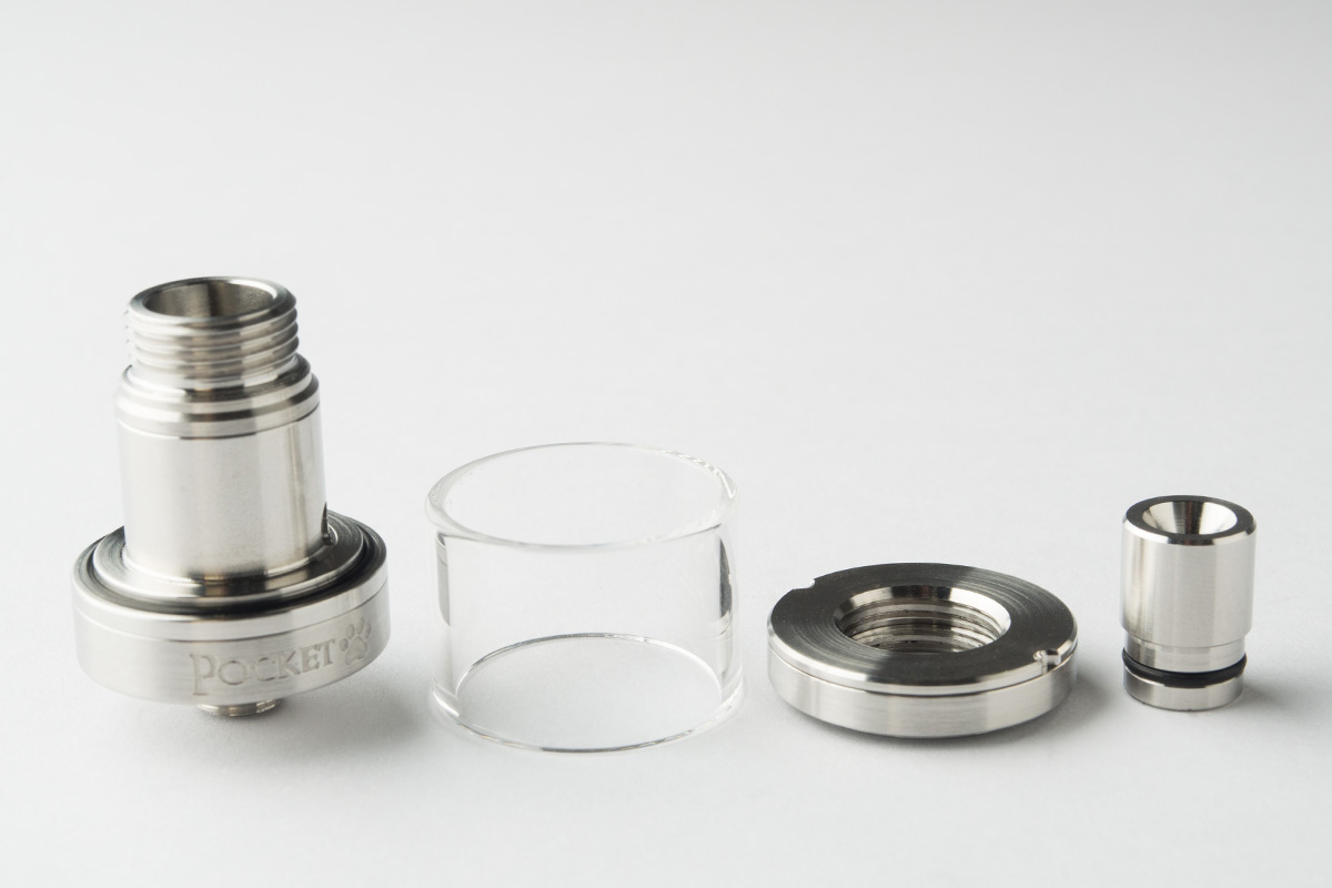 【アトマイザー】Pocket RTA「ポケット」 (Crafter's Den) レビュー