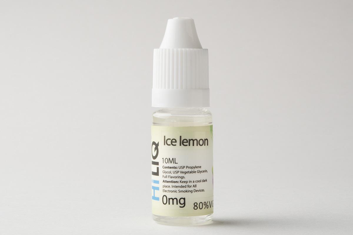 【リキッド】Ice Lemon「アイスレモン」(HiLIQ/ハイリク) レビュー