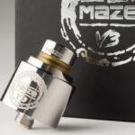 【アトマイザー】Maze v3 RDA「メイズ ブイスリー」 (Hcigar/エイチシガー) レビュー