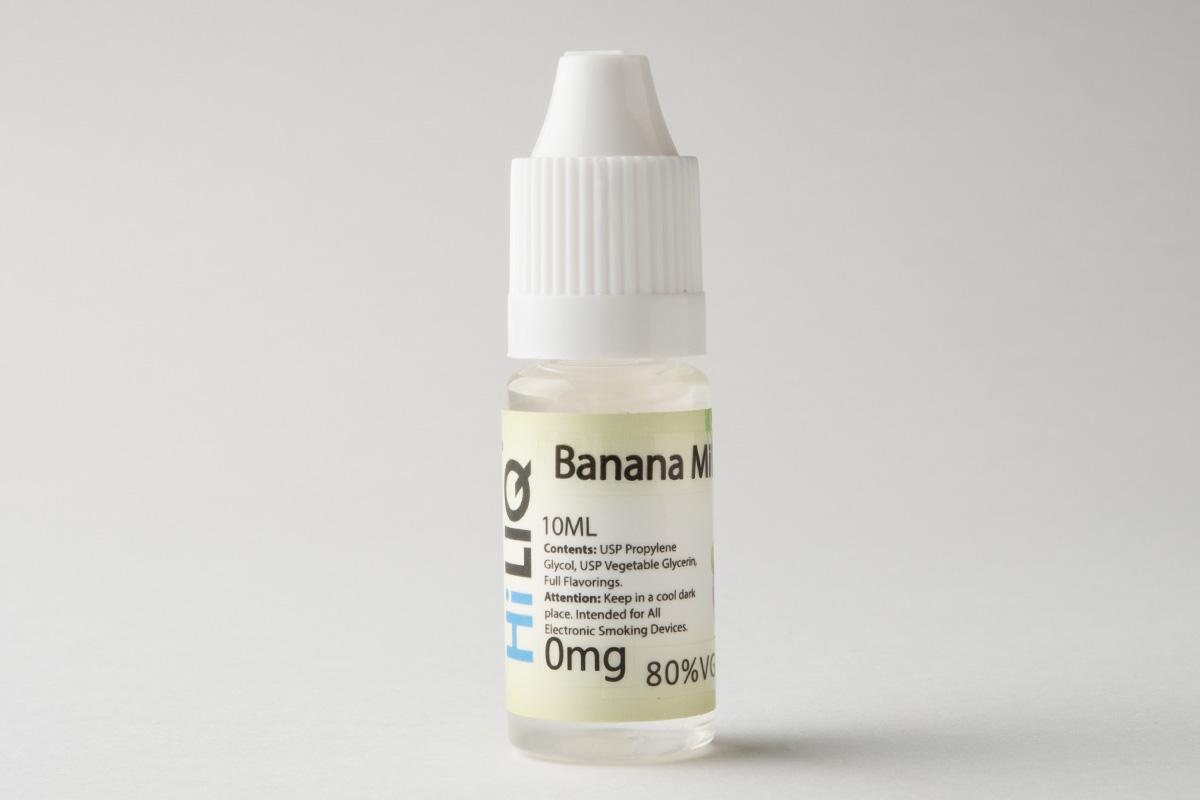 【リキッド】Banana Milk「バナナミルク」(HiLIQ/ハイリク) レビュー