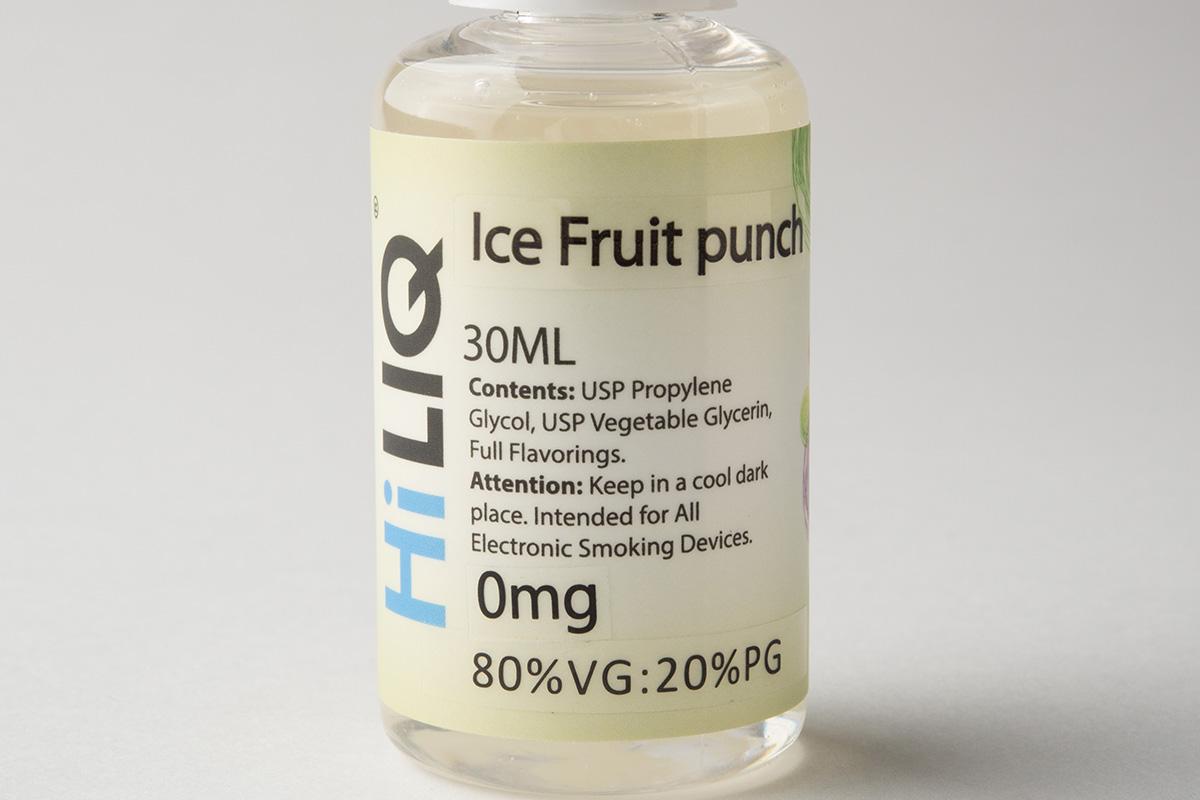 【リキッド】Ice Fruit Punch「フルーツパンチ」(HiLIQ/ハイリク) レビュー