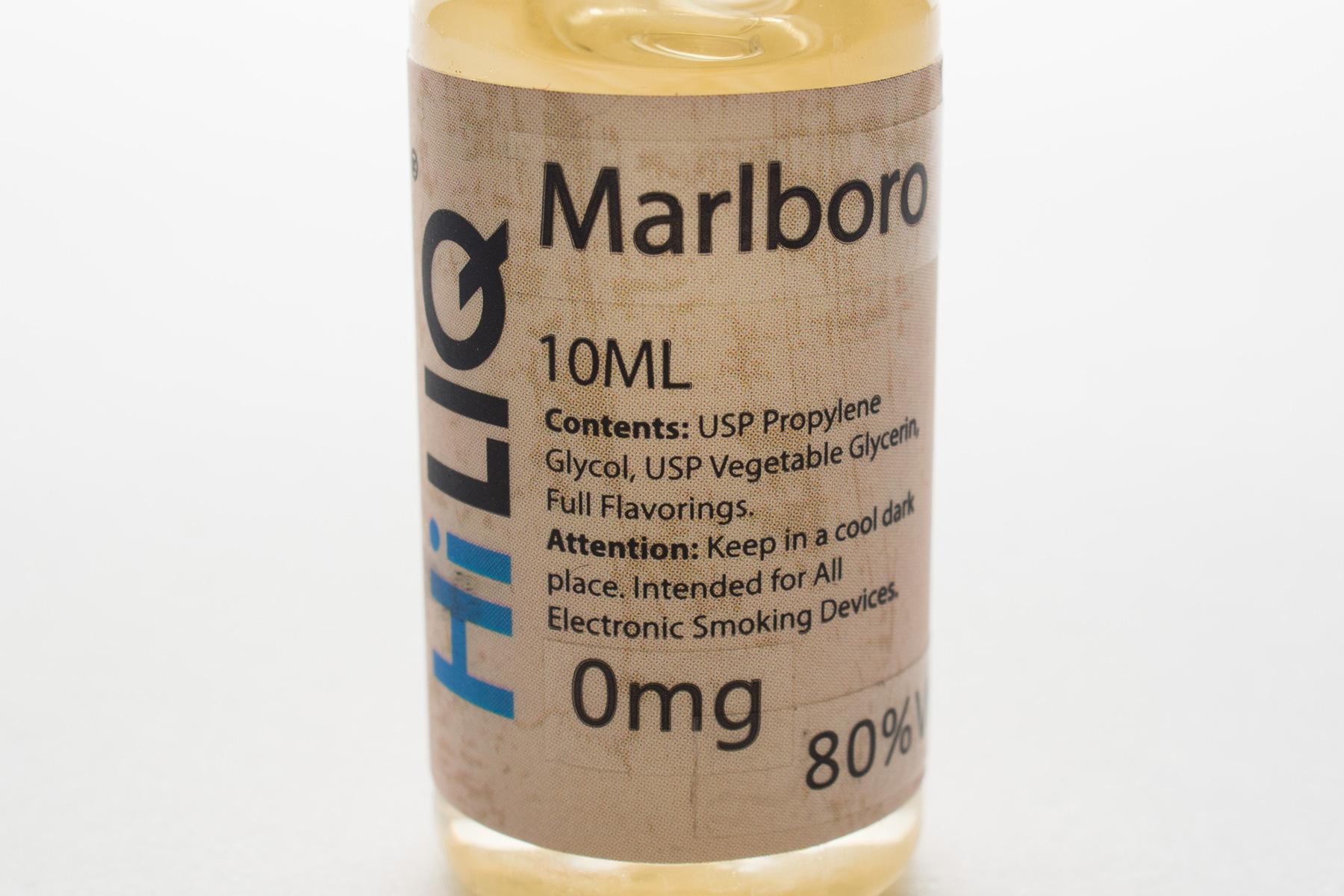 【リキッド】Marlbo「マルボロ」 (HiLIQ/ハイリク) レビュー