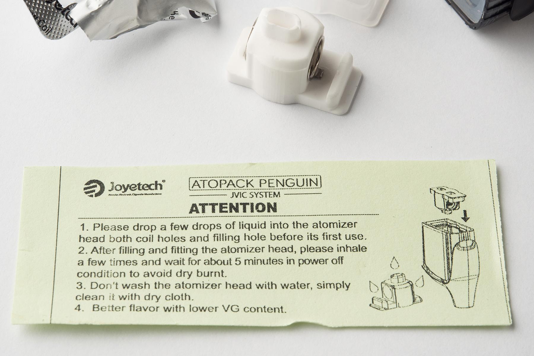 【スターターキット】ATOPACK PENGUIN「アトパック・ペンギン」(Joyetech/ジョイテック) レビュー