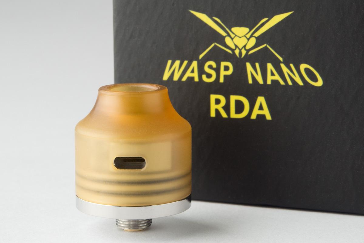 【アトマイザー】Wasp Nano RDA「ワスプ ナノ」 (OUMIER) レビュー